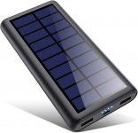 HETP Version à économie D'énergie Batterie Externe Chargeur Solaire 26800mah