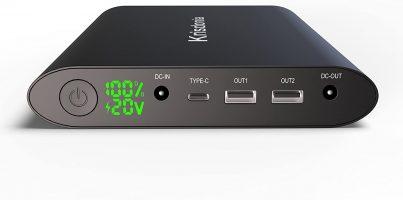 Krisdonia 50000mAh Batterie Externe pour PC, Mac, Smartphone